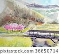 우 치코 타 마루 다리 덮힌 다리 에히메 현 36650714