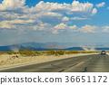Desert highway to Death Valley National Park birth 36651172