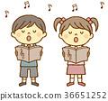 男孩和女孩唱詩班 36651252