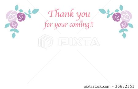 感謝卡(紫色蛾) 36652353
