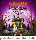 halloween pumpkin church 36653582
