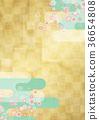 樱花 樱桃树 背景材料 36654808