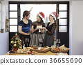 젊은여자,20대, 한국인,크리스마스 36655690