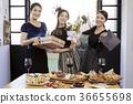 年輕女子,20多歲,韓國人,聖誕節 36655698