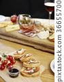 견과, 과일, 방울토마토 36655700