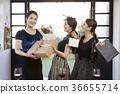 年輕女子,20多歲,韓國人,聖誕節 36655714
