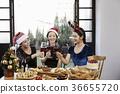 年輕女子,20多歲,韓國人,聖誕節 36655720