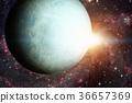 Solar System - Uranus. Elements of this image 36657369