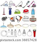 各种各样的装置/生活的例证 36657428