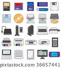 家電 電子學 記憶媒介 36657441