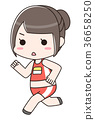 track and field events, run, female 36658250