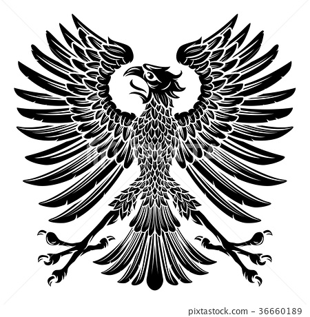 Imperial Style Eagle Emblem 36660189