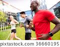 运动员 慢跑 奔跑者 36660195