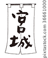 imperial palace, calligraphy writing, shop curtain 36661000