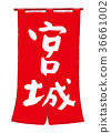 imperial palace, calligraphy writing, shop curtain 36661002