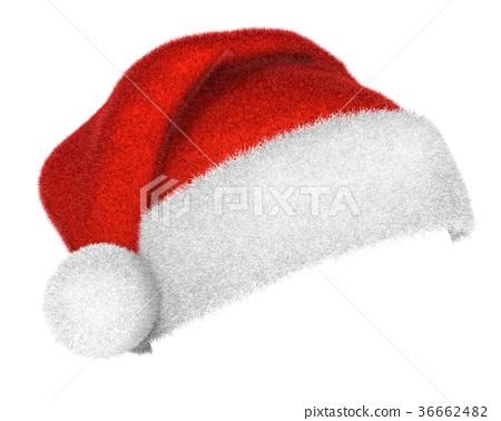 664720a93d6 Traditional Santa Claus hat - Stock Illustration  36662482  - PIXTA