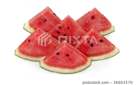 watermelon isolated on white background. 36663570