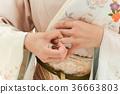 반지를 분리 여성 36663803