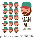 face emotion man 36666694