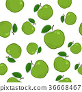 apple, seamless, pattern 36668467