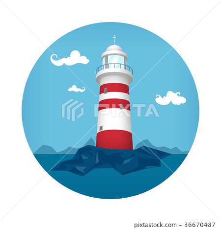 Lighthouse Icon 36670487
