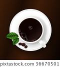 컵, 잔, 찻잔 36670501
