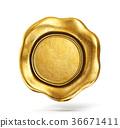 wax, gold, golden 36671411
