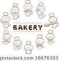 baker, bread, bakery 36676303