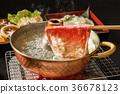Wagyu beef shabu hot pot Shabu-shabu hot pot Japanese beef 36678123