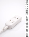 outlet, plug, extension cord 36679598