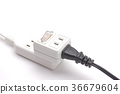 outlet, plug, extension cord 36679604