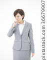 女人業務年輕女人 36679907