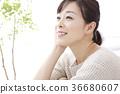 女性肖像 36680607