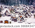 Japanese Winter Village 36684347