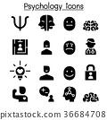 Psychology icon set vector illustration  36684708