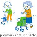 老人 年老 老年人 36684765