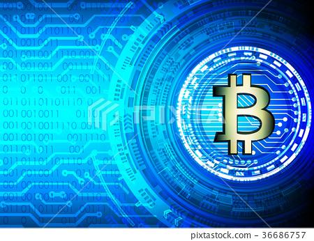 bitcoin and blockchain digital technology, 36686757