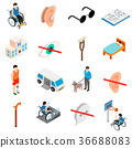 Disabled people care set 36688083