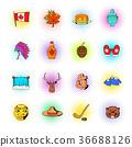 canada,icon,set 36688126