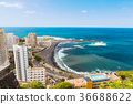 Aerial view to Puerto de la Cruz, Tenerife 36688622