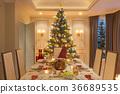christmas table family 36689535