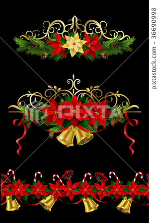 Christmas elements for your designs 36690998