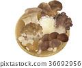 蘑菇 篩子 椎茸 36692956
