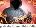 불꽃, 화염, 불 36697582