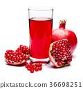 石榴 果汁 水果 36698251