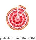 케이크, 홀, 딸기 36700961