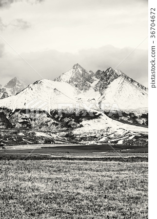 Lomnicky peak, High Tatras, Slovakia, colorless 36704672