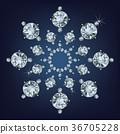 Snowflake made a lot of from diamonds. 36705228