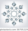 Snowflake made a lot of from diamonds. 36705229