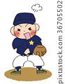 야구, 소년, 남자애 36705502